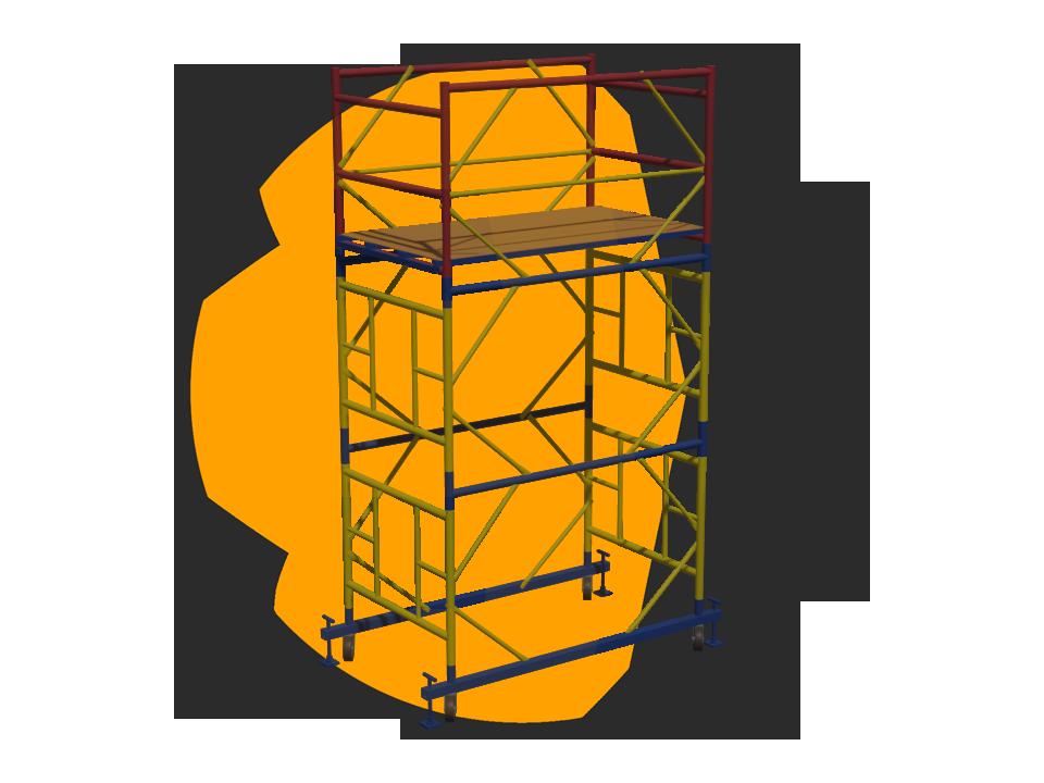 Вышка Тура, модель ВСР-4 (1.2 х 2.0 метра)